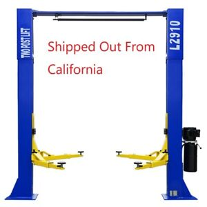 A 9 000 Lb Over Head L 2910 2 Post Lift Car Auto Truck Hoist Great Quality