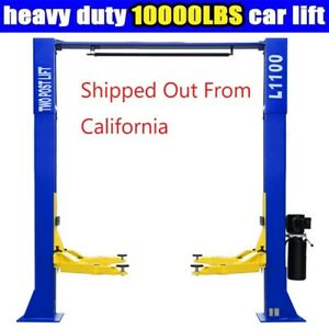 A 10 000lbs Car Lift L1100 2 Post Lift Car Auto Truck Hoist Great Quality