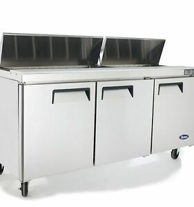 Atosa Msf8304 72 Commercial Sandwich Prep Table