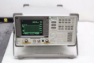 Hp Agilent 8591em Emc Analyzer W Tracking Generator 9 Khz 1 8 Ghz Calibrated