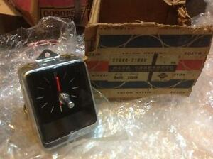 Datsun 510 Bluebird Sss Auto Clock Jeco Genuine Nos Japan 68 69