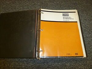 Case 450 Crawler Loader W 207 Diesel Engine Parts Catalog Manual S n 3060306 up