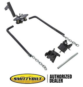 Smittybilt 14 000 Lb Adjustable Height Weight Distributing Hitch System 87550