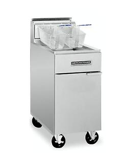 American Range Af 35 50 Commercial Deep Fryer Natural Gas
