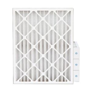 16x20x4 Merv 8 Pleated Ac Furnace Air Filters 4 Pack actual Depth 3 3 4