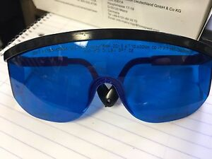 Uvex By Honeywell 31 30116 Laser Glasses Blue Uncoated