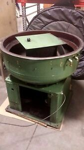 Walther Trowal cm 245 Circular Vibratory Finisher