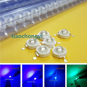 1w 3w Royal Blue Blue Lce Blue High Power Led 445nm 460nm Light emitting Diode