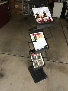 Pop up Brochure Holder Literature Rack For Magazines Zedup