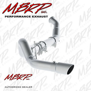 Mbrp S61160al 5 Turbo Back Exhaust 04 07 Ram 2500 3500 5 9l Diesel With Tip