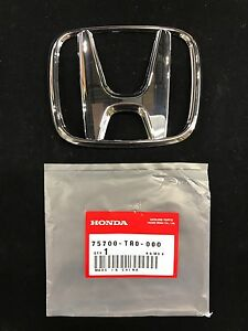 New Genuine Oem 2012 16 Honda Civic Front Emblem 75700 Tr0 000 Usa Seller