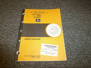 John Deere 6305 Bulldozer Dozer Tractor Parts Catalog Manual Pc916