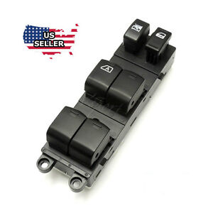 New Master Power Window Control Switch For 2005 2012 Nissan Xterra Frontier