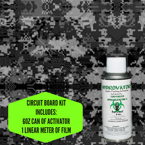 Hydrographic Film Water Transfer Hydro Dip 6oz Activator Circuit Board Kit