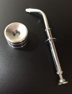Dental Amalgam Carrier Gun Syringe B d m Co And Union Broach Well Stainless