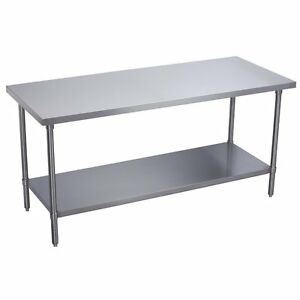 Durasteel Stainless Steel Food 30 X 60 X 34 Commercial Work Table Brand New