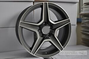 19 63 Grey Amg Style Wheels Rims Fits Mercedes Benz M Class Ml350 Ml550 4matic