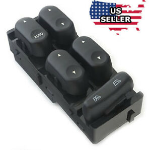 Master Power Window Switch 02 07 Ford F250 F350 F450 F550 Super Duty Crew Cab
