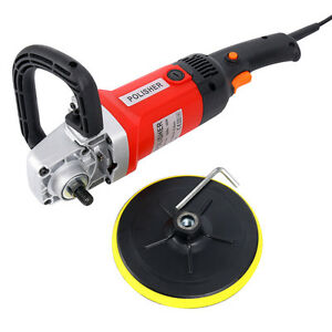 Yaetek 7 Electric 6 Variable Speed Car Polisher 600 3100rpm Perfect Durable