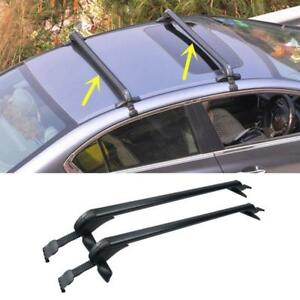 Universal Car Window Frame Clamp Roof Top Rack Tube Rails Cross Bars Carrier