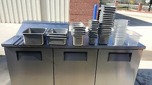 Used True Tssu 72 08 Refrigerated Prep Table Free Shiping