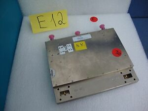 Terrasat Microwave Ed 0128 7 Power Amplifier Transmitter 12 750 13 25ghz