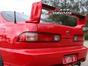 For Carbon Fiber Blade 94 01 Integra Type R Dc2 3 Pcs Rear Wing Trunk Spoiler