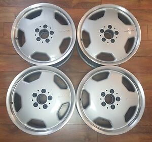 17 Mercedes Amg Monoblock Oem Staggered Rims Wheels Clk Slk E320 C Class