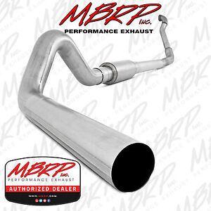 Mbrp S6218p 4 Turbo Back Exhaust 94 97 Ford Superduty F250 F350 7 3l Diesel