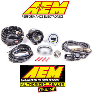 Genuine Aem Digital Wideband Uego Gauge Controller Air Fuel Ratio Bosch 4 9lsu
