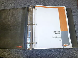 Case 450c 455c Crawler Loader Dozer Parts Catalog Manual Manual Book 81932
