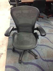 Herman Miller Aeron Chair Open Box Gray