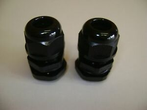 2 Excellent Quality 3 4 Npt Cord Cable Glands With Seals And Nuts Npt 3 4