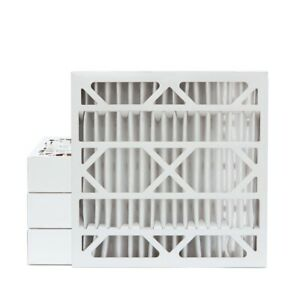 24x24x4 Merv 13 Pleated Ac Furnace Air Filters 4 Pack