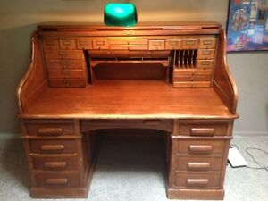 Rare Ml Kimmel Roll Top Desk