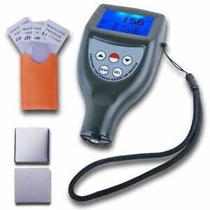 Paint Coating Thickness Gauge Meter Built in F Ferrous Nf Non ferrous Probes