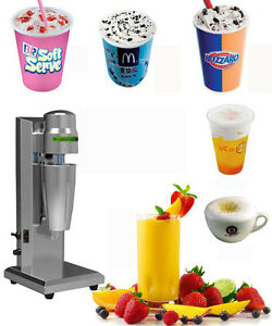 Soft Ice Cream Speed Mixer Milkshake Cyclone Machine Commercial household Use