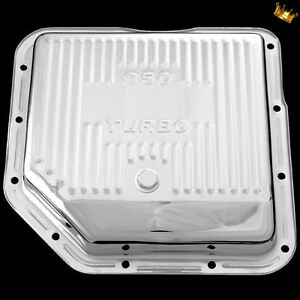 Transmission Pan Th350 For Chevy Pontiac Oldsmobile Buick Transmissions Chrome