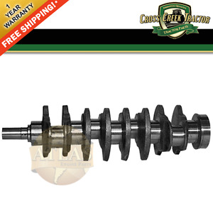 Crankshaft10 New Crankshaft Jd 4 219 4 239 4 039 For John Deere 2350 2550