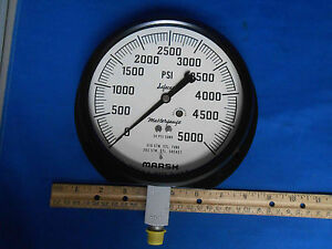 60 1379tas02l5000 Gage Pressure 0 5000 Psi New Old Stock