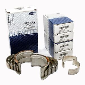 Bbc Chevy 396 427 454 Clevite 77 Cb743p Ms829p Main Bearing Rod Bearings Set