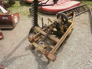Vintage Minneapolis Moline 6 Ft Sickle Hay Mower