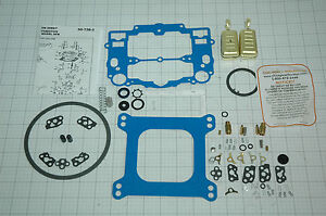 No Stick Blue Edelbrock Carb Rebuild Kit W Floats 1403 1405 1406 1407 Like Edelb