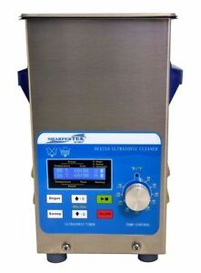 Heated Ultrasonic Cleaner With Sweep Tank Size 6 X 5 25 X 6 By Sharpertek