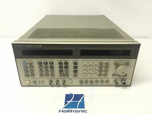 Agilent Hp 8664a 0 1 3ghz Synthesized High performance Signal Generator