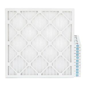 12x12x1 Merv 8 Pleated Ac Furnace Air Filters 12 Pack