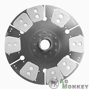 M524411 Hd8 14 single Stage Clutch Disc 8 large Pads Massey Ferguson 1500 1505