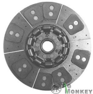 M528297 Hd8 14 Single Stage Clutch Disc 8 large Pad Massey Ferguson 1105 1135