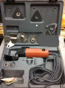 FEIN MULTIMASTER SANDER MODEL MSXE 636 II WITH CASE AND ACCESSORIES INCLUDED