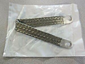 Ground Strap Braided 13 In Copper Tin Plated C8860525 M